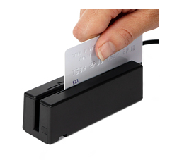 magtek credit card reader can be integrated into your kiosk application
