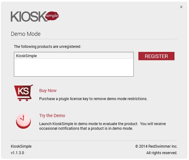 Kiosk Browser Software Startup Mode