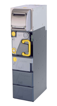 Dispense case from your kiosk with the MEI BNR bulk note recycler