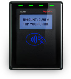 Ingenico iSelf-Series kiosk EMV contactless NFC card readers