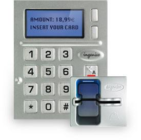 Ingenico iSelf-Series kiosk EMV chip and PIN