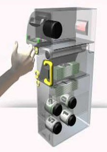 Dispense cash from your kiosk with a bill recycler