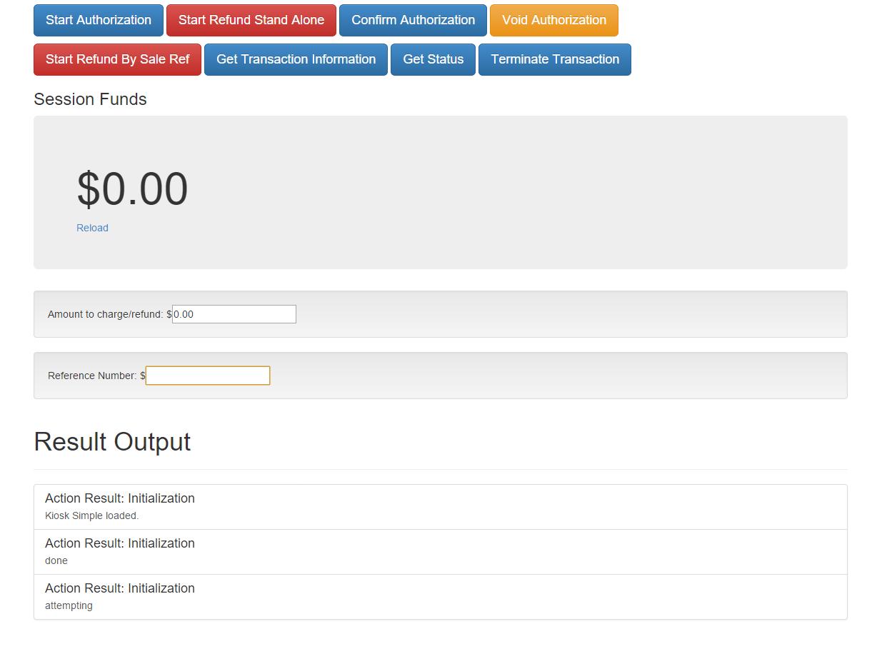 CreditCall EMV JavaScript Test