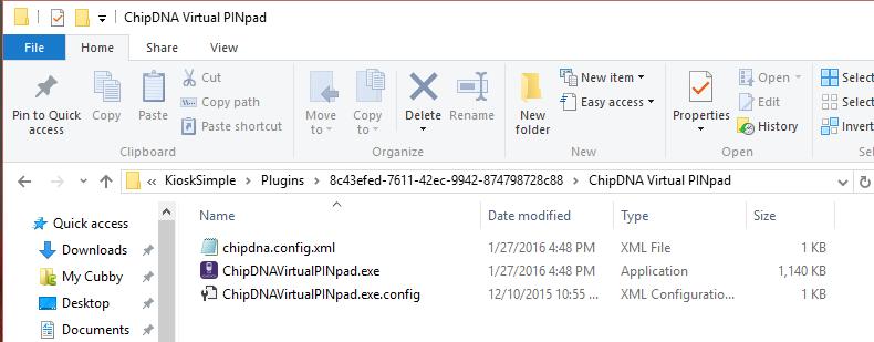 Running the Creditcall EMV Virtual Terminal