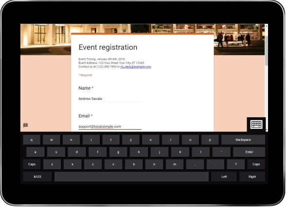 How to Create an Event Registration Kiosk Using Google Forms