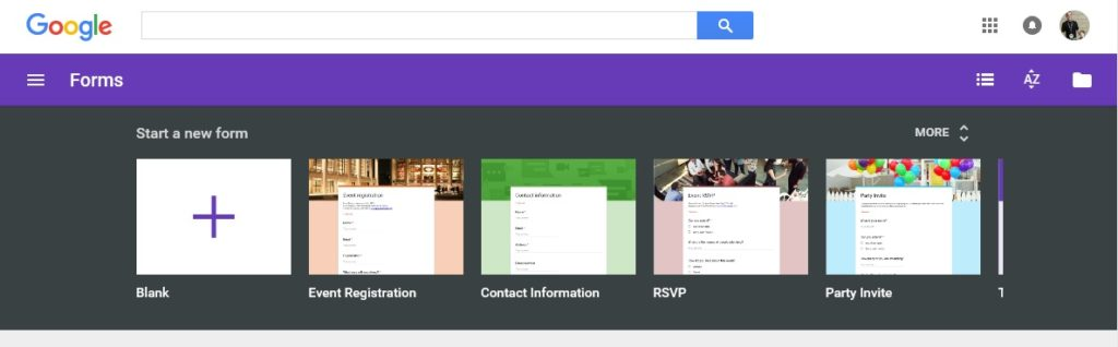 Google Forms Event Registration Kiosk