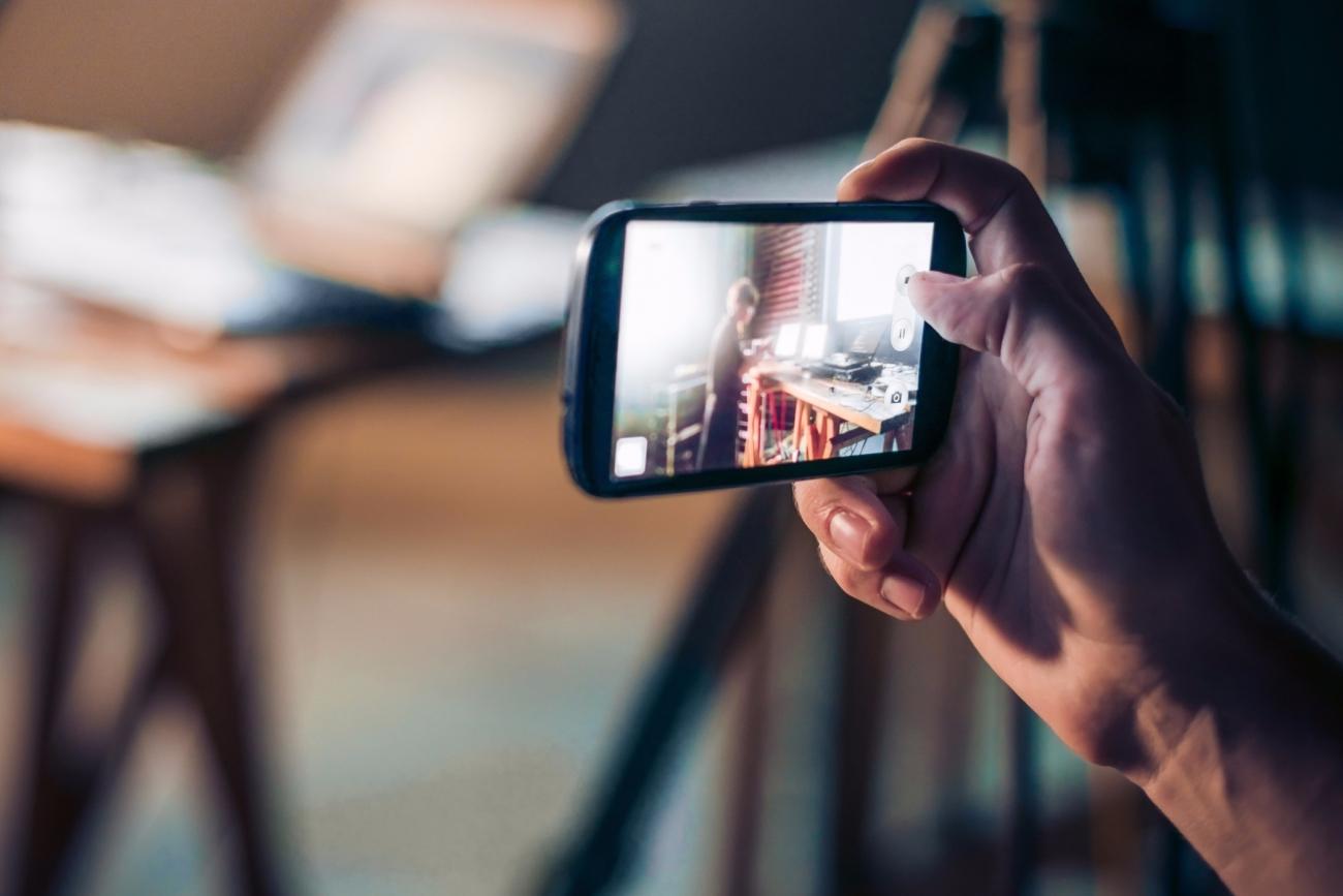 recording training videos