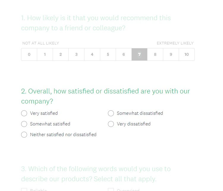 SurveyMonkey Customer Satisfaction Survey Kiosk